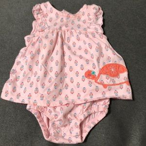 Carters Baby Girl summer dress - Size 3M
